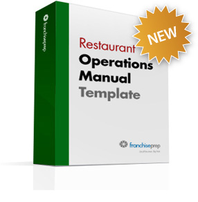 franchise restaurant operations manual template